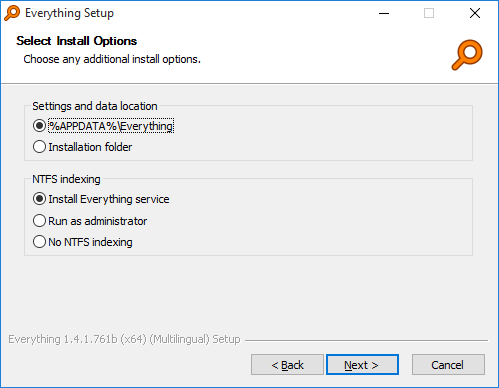 一切安装程序安装选项1